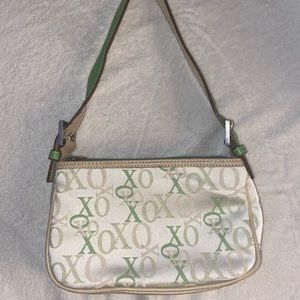 Green 2000s mini purse